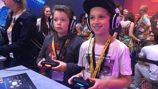 Kinderreporter auf der Gamescom