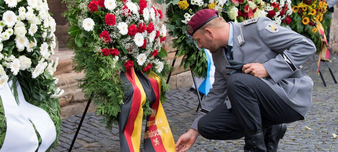 Trauer um Soldaten