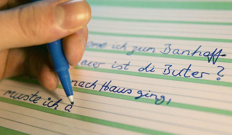 Wenn das Schreiben schwer fällt