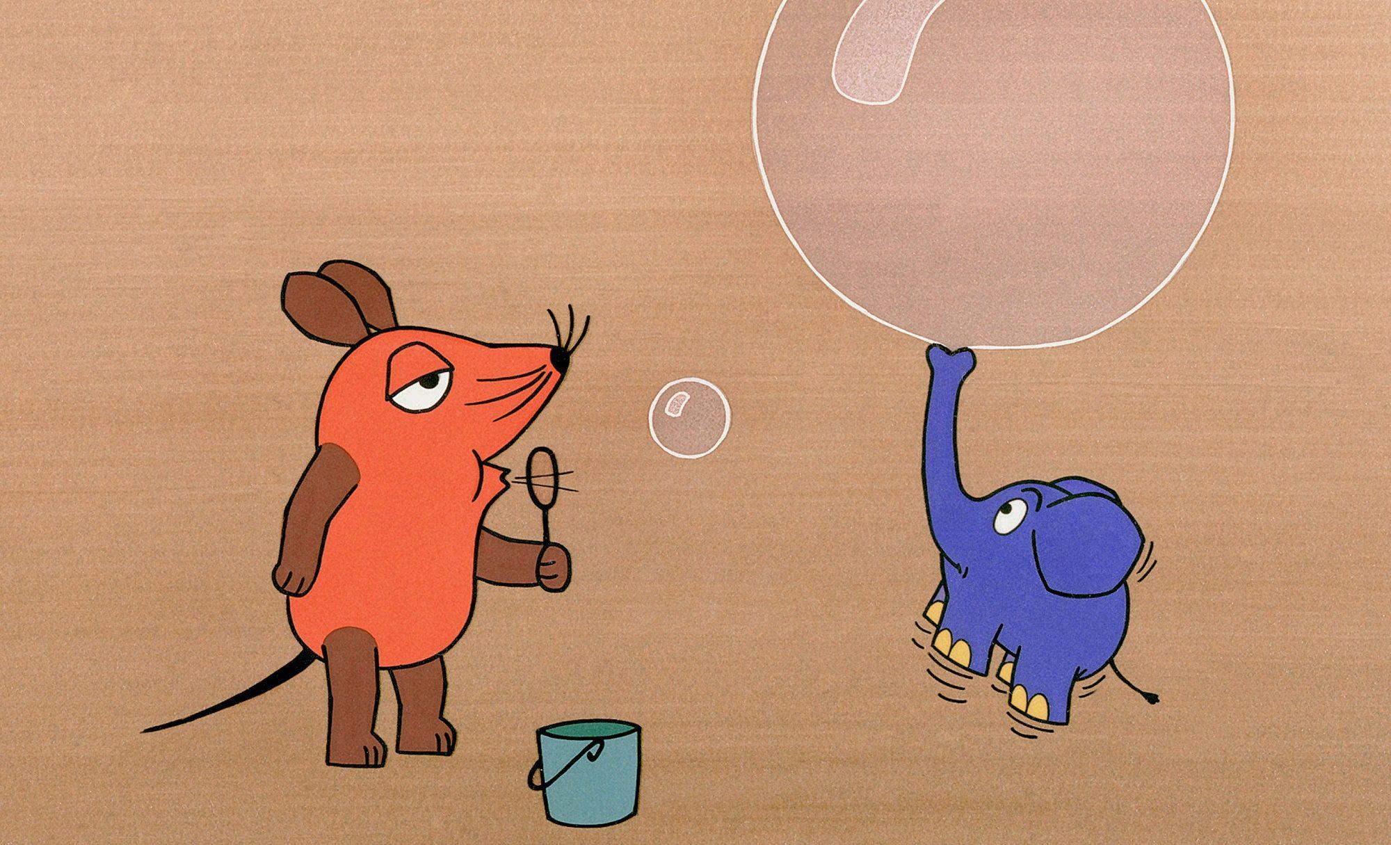 """der kleine elefant aus der """"sendung mit der maus hat"""