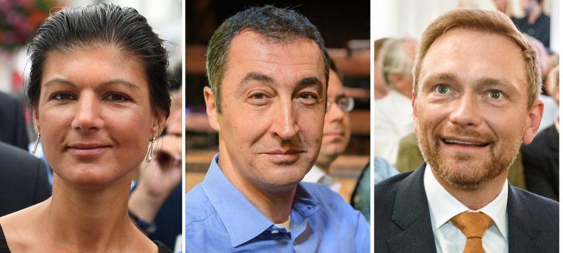 Was wollen FDP, Grüne, Linke, AfD?