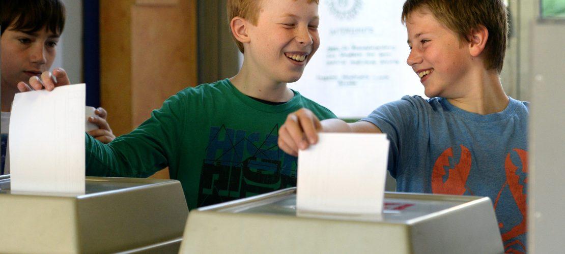 Stimm' bei der Bundestagswahl ab!