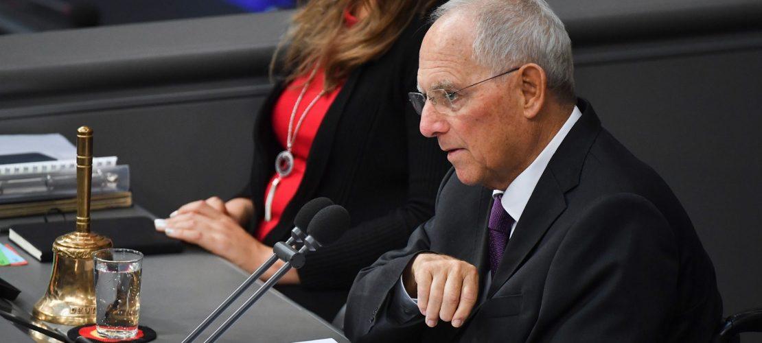 Schäuble soll für Ordnung sorgen