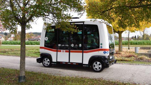Dieser Bus fährt von selbst