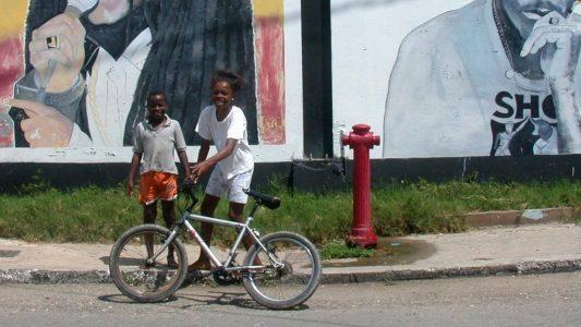 Das ist die Insel Jamaika