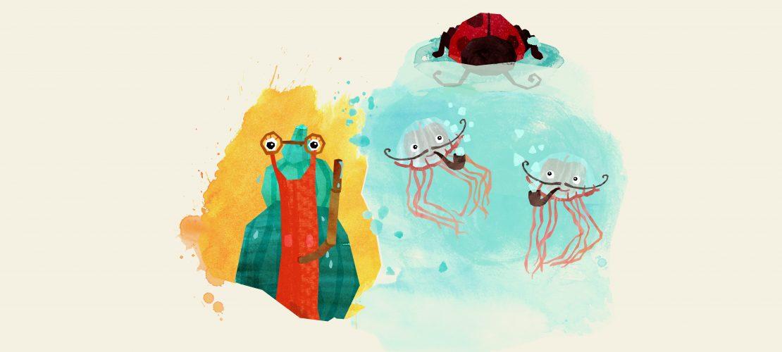 Klicktipp: Schnecke Milli erklärt Kunst