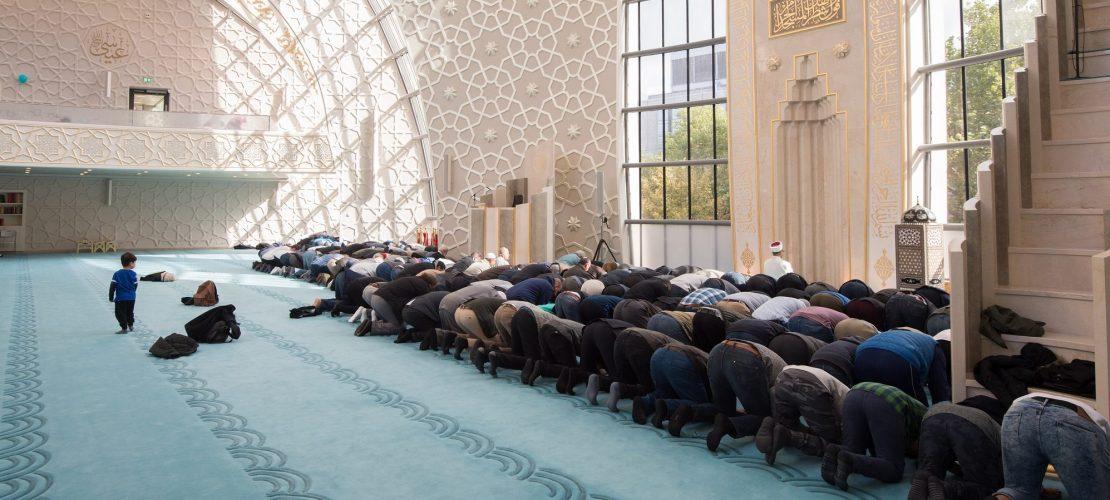 Zu Besuch in einer Moschee