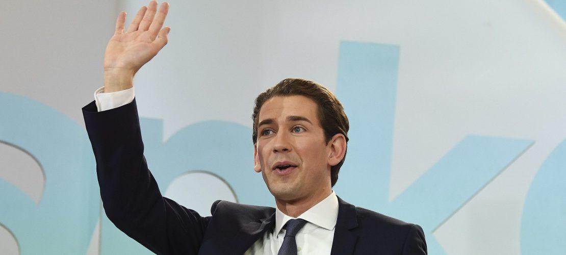 Junger Kanzler für Österreich