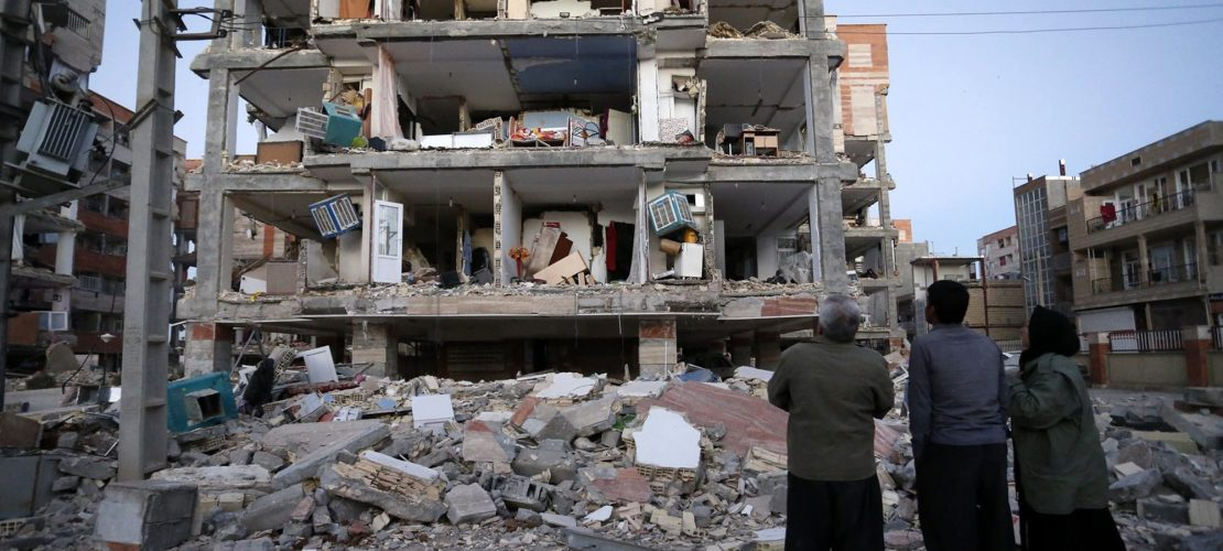 Erdbeben an der Ländergrenze