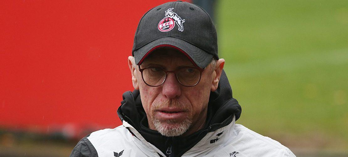 Peter Stöger verlässt den FC