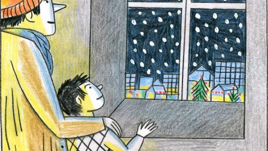 Weihnachtsgeschichte 3: Flauschige Flocken fallen