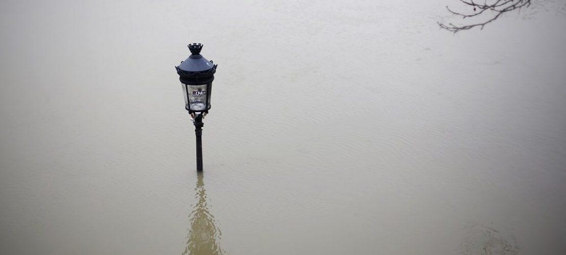 Paris unter Wasser