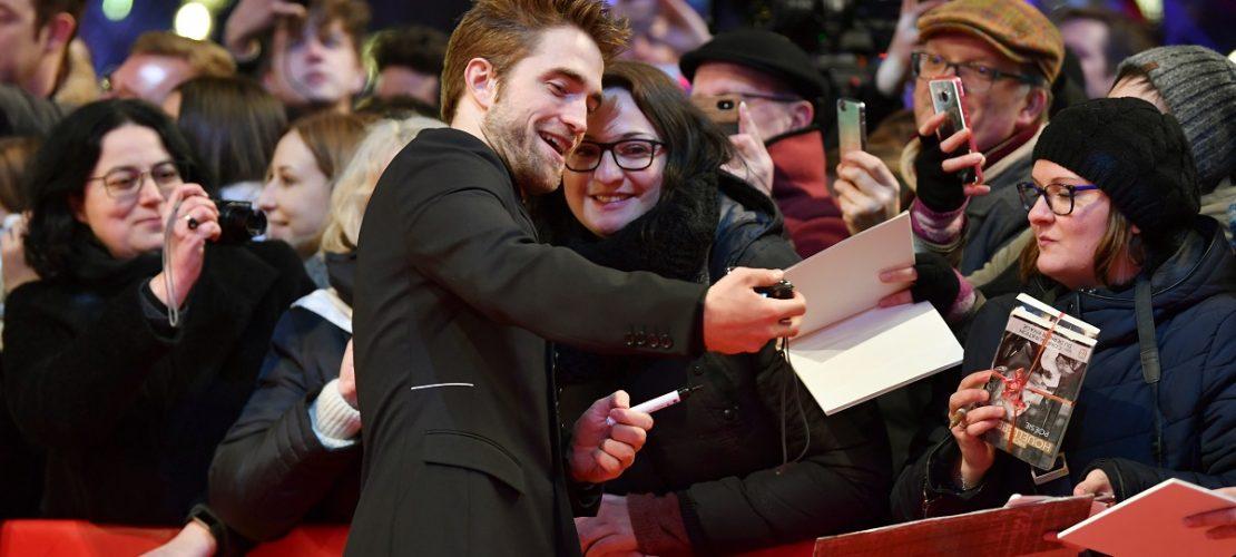 Auch der Schauspieler Robert Pattinson ist bei der Berlinale zugange. (Foto: dpa)