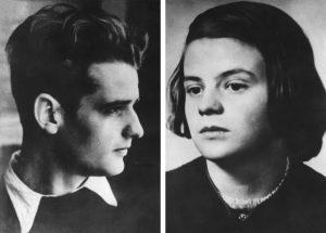 """Hans und Sophie Scholl waren Mitglieder der Gruppe """"Die Weiße Rose"""". (Foto: dpa)"""
