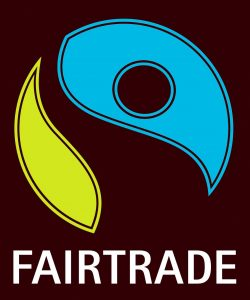 Die Abbildung zeigt das Siegel für Produkte aus fairem Handel (undatiertes Handout).
