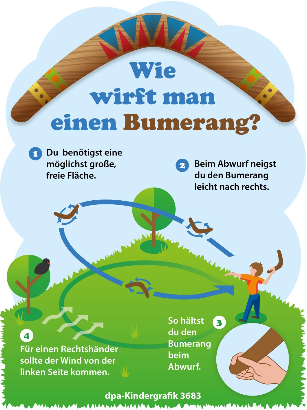 Wie Wirft Man Einen Bumerang