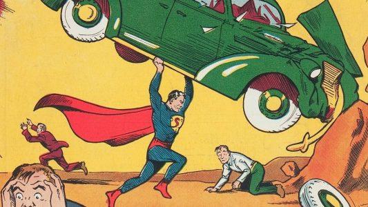 Spandexhosen und imposanter Umhang - so sah Superman schon vor 80 Jahren aus. Foto: Jose Hernandez/Heritage Auctions/dpa