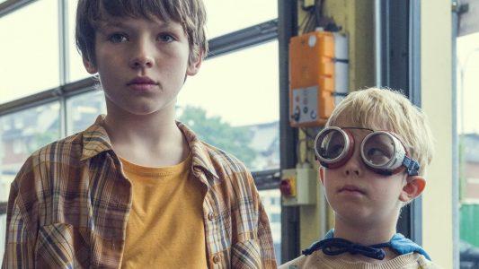 HANDOUT - Matti (Mikke Rasch) und Sami (Nick Holaschke) in einer Szene des Films