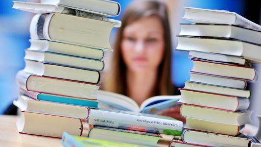 Bis zur Fußball-WM kann man sich die Zeit mit neuen Büchern vertreiben. (Foto: Jan Woitas/dpa)