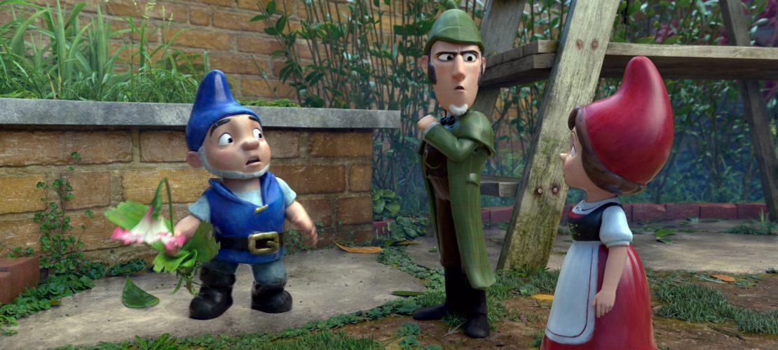 Sherlock Gnomes, Gnomeo und Juliet in einer Szene des Films