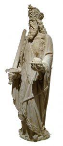Karl der Große als Statue (Foto: Lokilech, Karl der Grosse Koelner Dom, CC BY-SA 3.0)