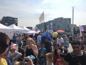 Schon in den letzten Jahren war jede Menge auf dem Kinderfest los! (Foto: Duda - Deine Zeitung)