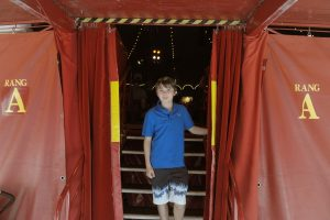 Im Zirkuszelt immer zu Hause: Justin. (Foto: Rako)
