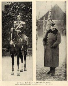 Der letzte deutsche Kaiser: Wilhelm II. (Foto: Selle & Kuntze, Zwei neue Aufnahmen des Kaisers Wilhelm II, 1904, als gemeinfrei gekennzeichnet, Details auf Wikimedia Commons)