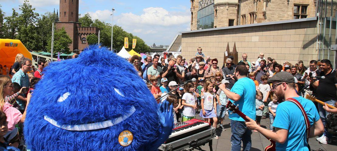 Das Duda Sommerfest vor dem Schokomuseum war ein richtiger Knaller! (Foto: Martina Goyert)
