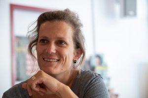 Teresa Rohner ist Betreuerin im Sportinternat. (Foto: Uwe Weiser)