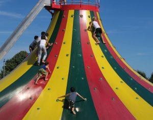 Wer klettern mag, ist im Bubenheimer Spieleland richtig. (Foto: Bubenheimer Spieleland)