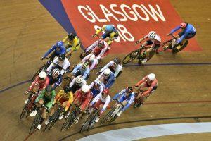 Das Bahnradfahren gehört auch zu den Europameisterschaften, die gerade in Glasgow ausgetragen werden. (Foto: dpa)