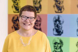 Kathrin Kunkel-Razum leitet in Berlin die Dudenredaktion. Sie weiß alles über die Rechtschreibereform. (Foto: Privat)
