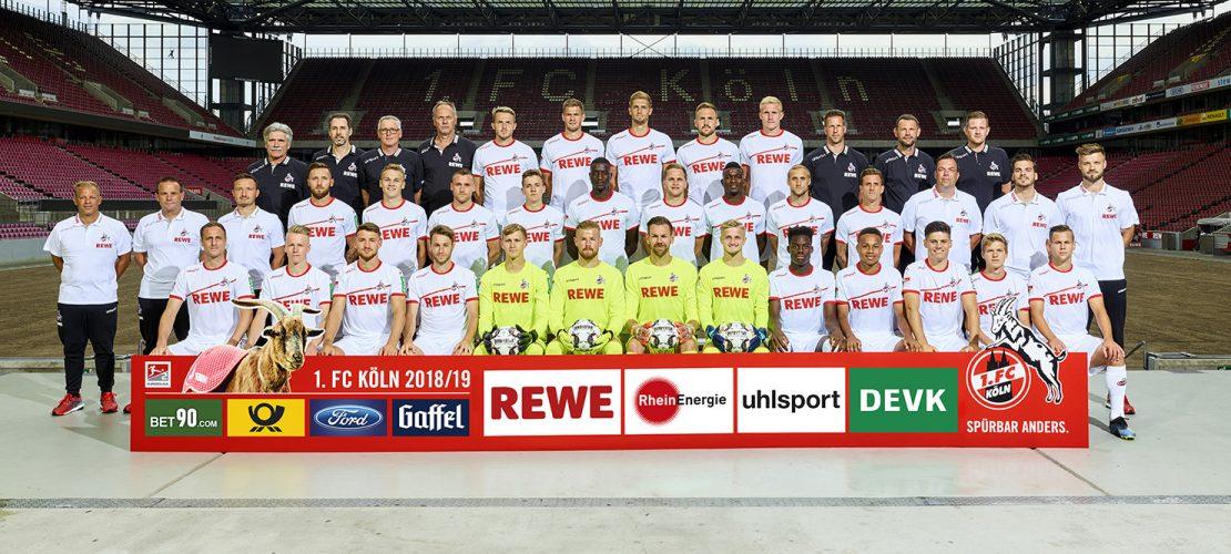 Der FC-Kader 2018/2019 (Foto: Thomas Faehnrich)