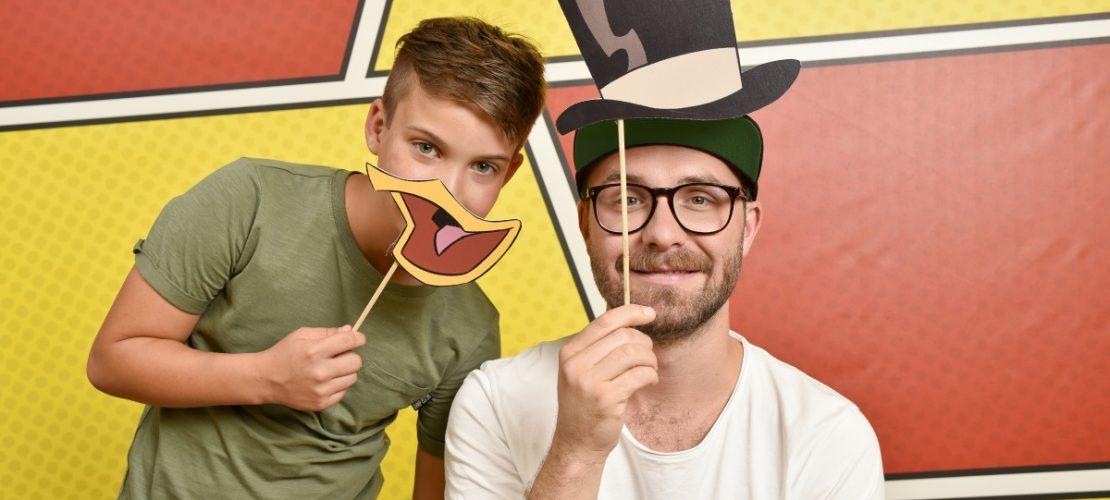 Niklas und Mark Forster (Fotos: Disney)