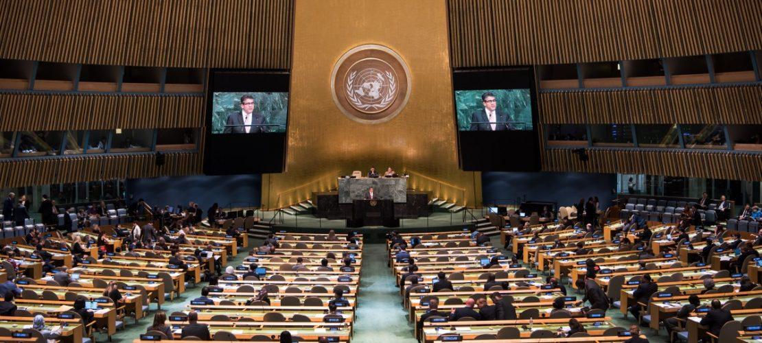 Die Vollversammlung ist das zentrale Beratungsorgan der Vereinten Nationen, eine Art UN-Parlament. Alle 193 Mitgliedsstaaten sind darin vertreten. (Foto: dpa)