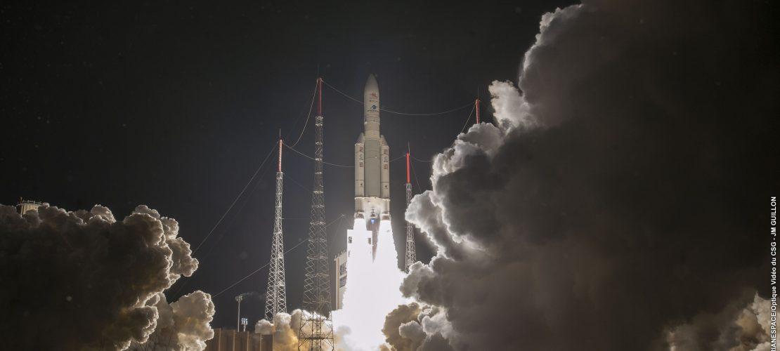 Eine Sonde saust zum Planeten Merkur