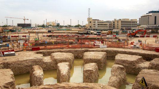Ein Lego-Stadion für die Fußball-WM in Katar
