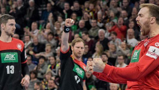 Kämpfer mit klebrigen Fingern – Handball