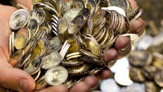 Milliarden von Münzen