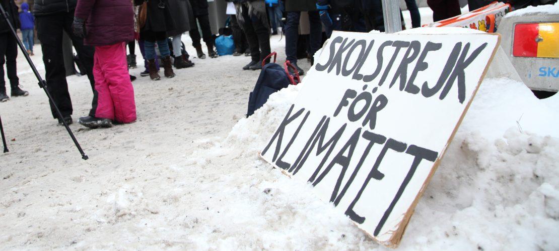 """""""Skolstrejk för klimatet"""" – Streik statt Schule"""