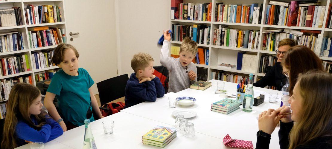 Die Duda zu Besuch im Buchklub