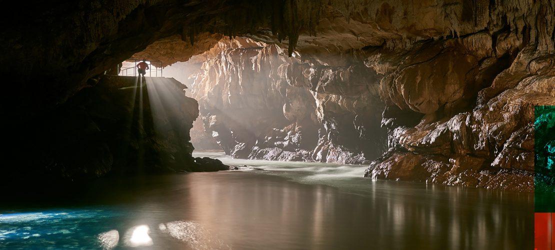 Gebirge, Höhlen, Strände – Slowenien