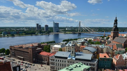 Kleines Land, viel Wasser – Lettland