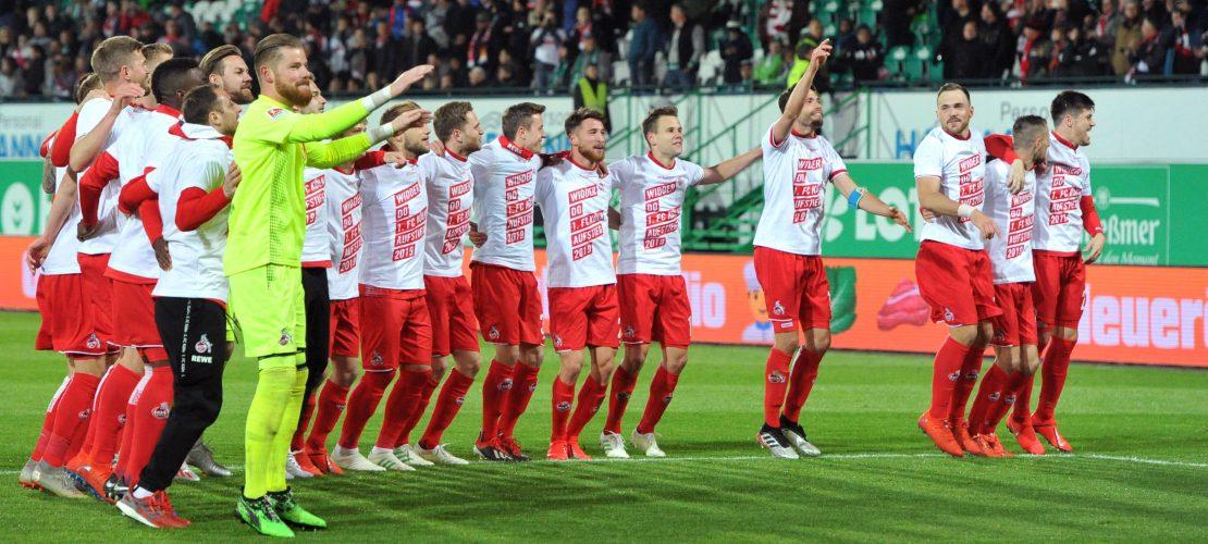 Endlich wieder erste Liga – der 1. FC Köln feiert den Aufstieg