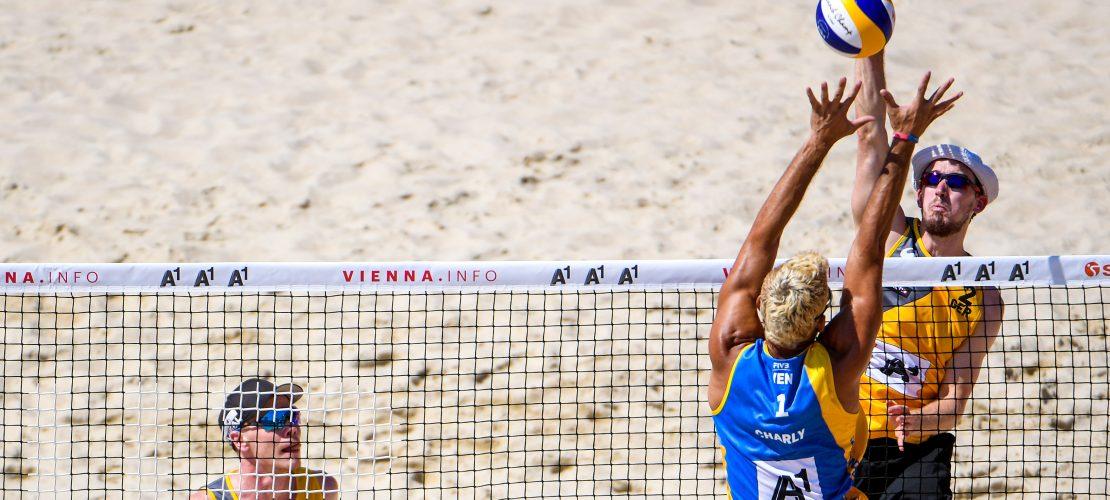 Großer Sport im Sandkasten