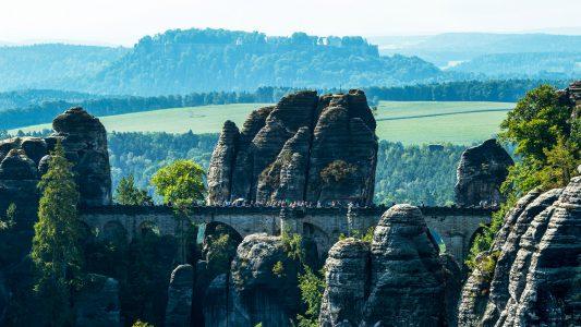 Wenn Felsen schmusen – Elbsandsteingebirge