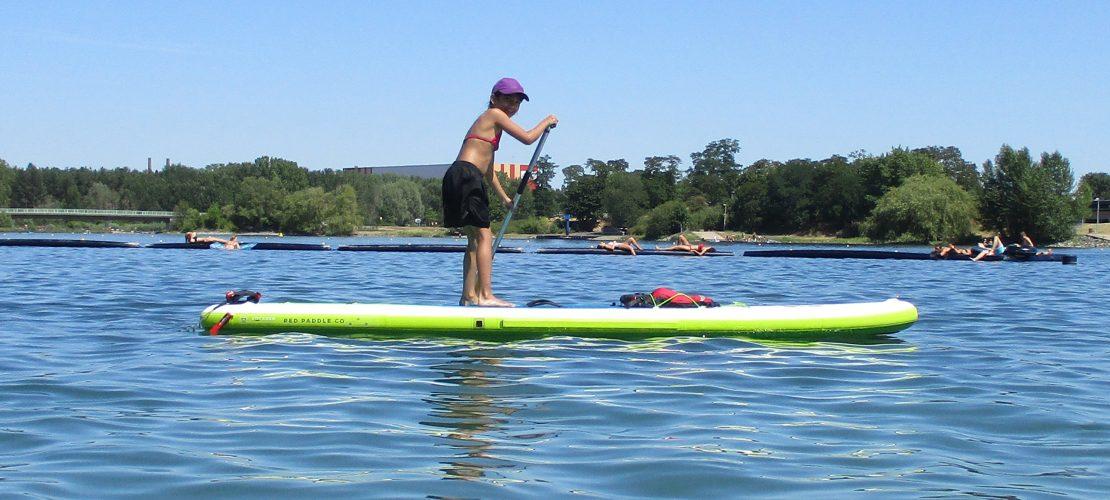 Über das Wasser gleiten – Stand Up Paddling