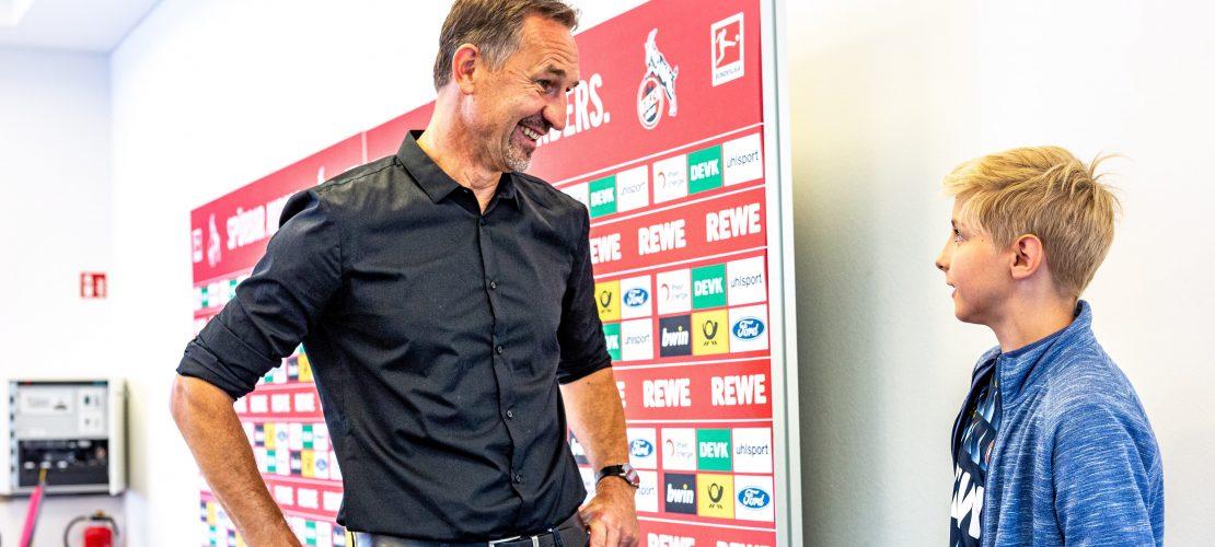 """Herr Beierlorzer, wie wird man Fußballprofi?"""