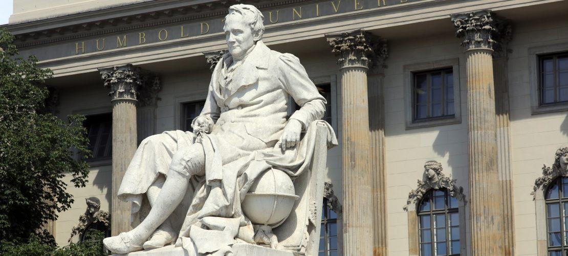 Alles Gute zum 250. Geburtstag Herr von Humboldt